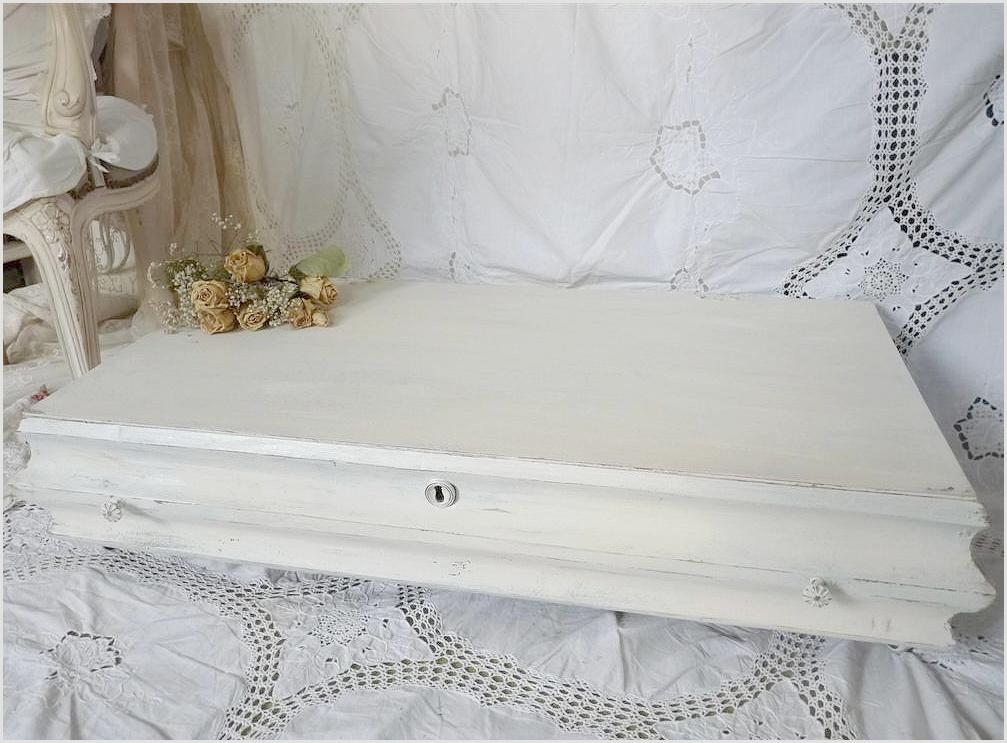 shabby vintage biedermeier unterbett kommode tisch o deckel truhe wei schublade ebay. Black Bedroom Furniture Sets. Home Design Ideas